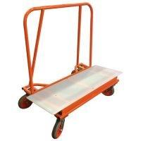 ADAPA Big Brute Drywall Cart with Plastic Deck