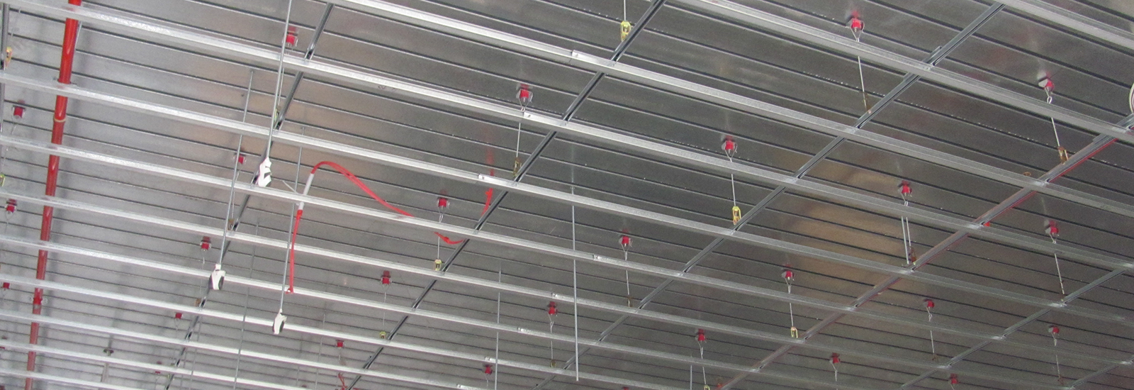Ceiling soundproofing system