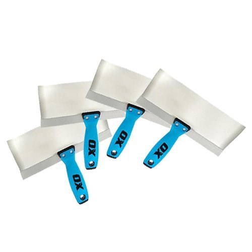 4 piece ox tools taping knife bundle deal