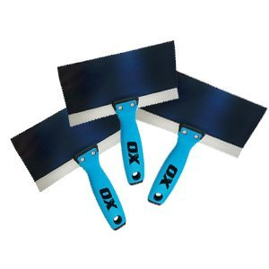 Blue Steel Taping Knife Bundle by Ox Tools