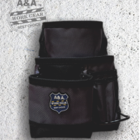 6 Pocket Carpenter's Nail & Tool Bag